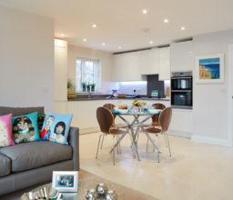 Development of four detached family homes, Buckinghamshire
